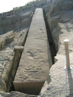 Der unvollendete Obelisk. - Steinbruch - Unvollendeter Obelisk