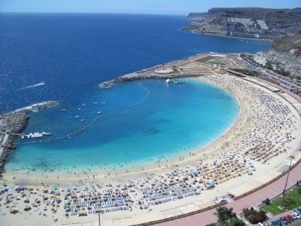 Zimmeraussicht - Strand Playa de Amadores