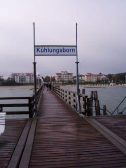 Seebrücke Kühlungsborn im Oktober - Seebrücke Kühlungsborn