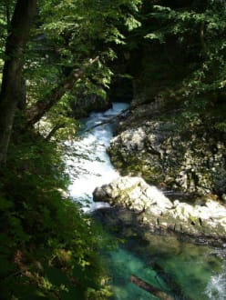 Vintgar Wasserfall - Šum Wasserfall