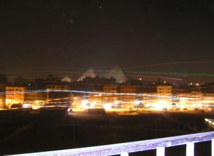 Kairo bei Nacht - Zentrum Kairo