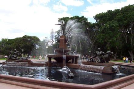 Archibald Foutain Brunnen - Hyde Park