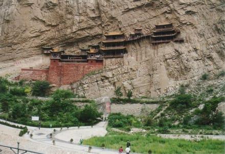 Hängende Kloster Xuankong Si - hängendes Kloster