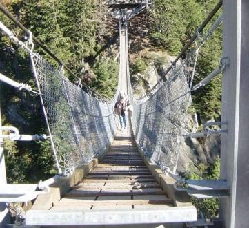 Hängebrücke zur Gelmerbahn - Hängebrücke zur Gelmerbahn