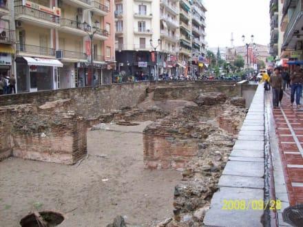 Burg/Palast/Schloss/Ruine - Ausgrabung Thessaloniki