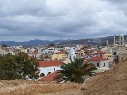 Blick auf die Altstadt - Altstadt Chania