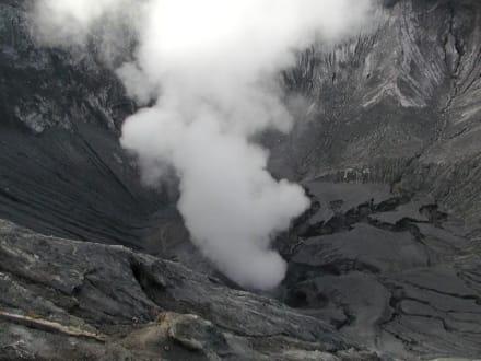 Krater des Mt. Bromo - Bromo Vulkan