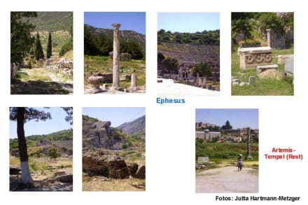 Besichtigung der antiken Stätte von Ephesus - Antikes Ephesus