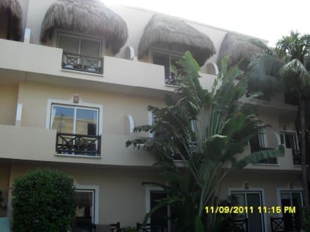 Außenansicht - Hotel Posada Riviera del Sol