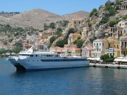 Im Hafen von Symi - Hafen Symi