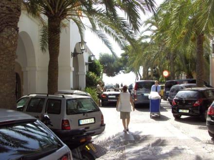 Platz in Dalt Vila - Altstadt Dalt Vila Ibiza