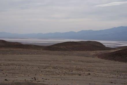 Aussichtspunkt Artists Drive - Death Valley