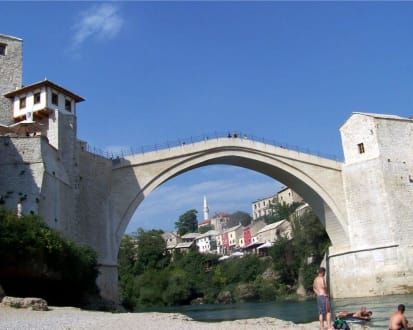 Mostar - - Brücke Stari Most