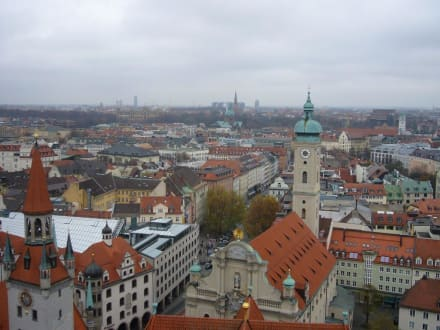 Blick über München - Pfarrkirche St. Peter (Alter Peter)