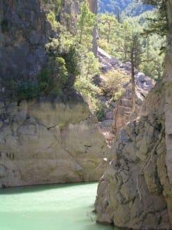 Ausflug Green Canyon - Oymapinar Baraji/ Stausee Green Lake & Green Canyon