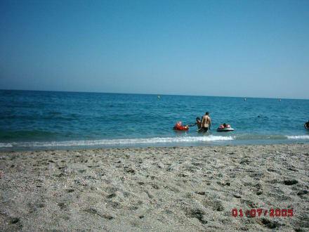 Der Strand von Nerja - Strand Nerja