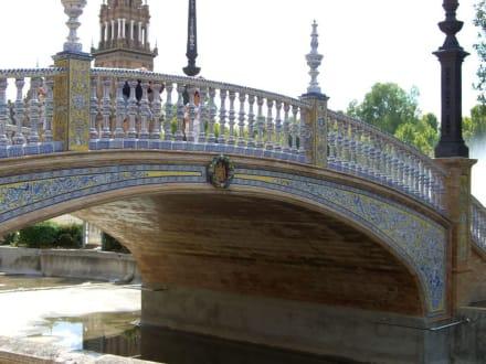 Brücke auf der Plaza de Espana - Plaza de Espana