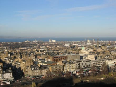 Rundumsicht - Edinburgh Castle