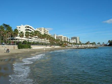 Strand von Marbella - Strände Marbella
