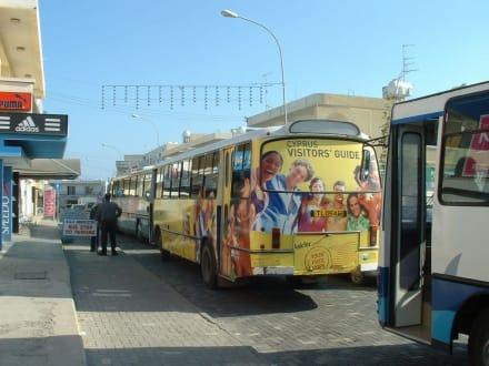 Unser Bus - Allgemeine Ortsbeschreibung Paralimni