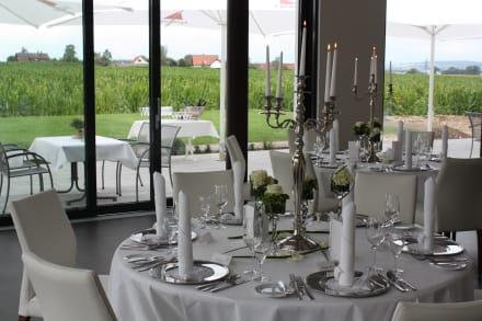 Restaunt Peunt von innen nach aussen - Meinl Hotel & Restaurant