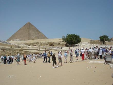 Pyramiden - Pyramiden von Gizeh