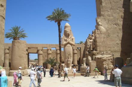 Karnak Tempel Luxor - Amonstempel Karnak
