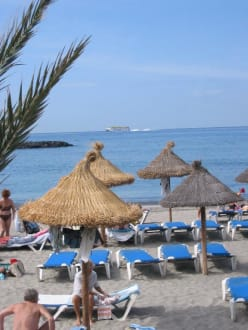 Playa de las Americas, Strandabschnitt - Strand Playa de las Americas