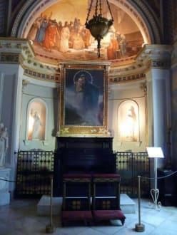 Kaiserin Elisabeth eigene Kapelle im Achillio - Schloss Achilleion