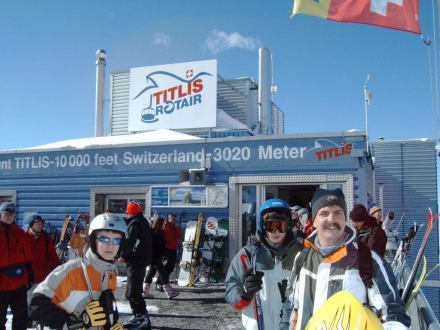 Titlis Bergstation - Titlis Seilbahn