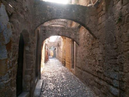 Die engen Gassen von Rhodos - Altstadt Rhodos Stadt