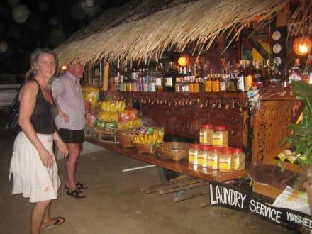 Sing's Beach Bar bei den Evasons - Sing's Beach Bar