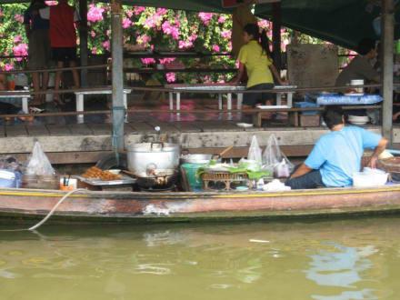 Schwimmender Markt - Klong Tour