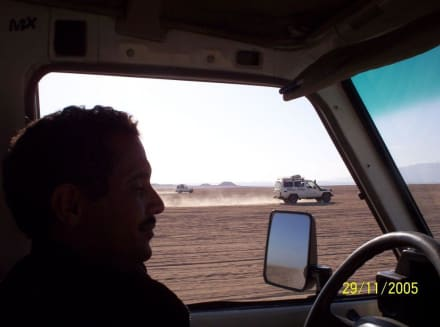 Jeep Safari - oder doch Ralley Paris-Dakar? - Jeep Safari Hurghada