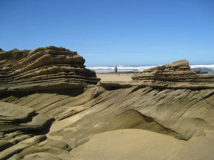 Felsformationen - Wilderness Beach