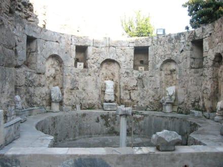 Museum Kaltbaderaum/Frigidarium - Side Arkeoloji Müzesi (Archäologisches Museum)