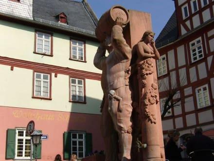 Denkmal Hauptmann von Hattstein - Stadtführung Limburg
