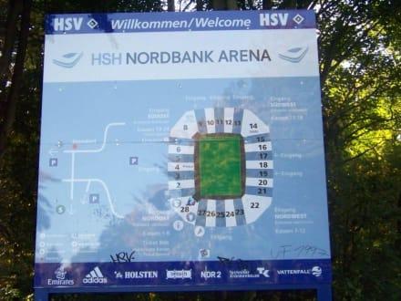 Übersichtsplan - Volksparkstadion