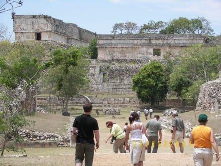 Maya Stadt Uxmal - Ausgrabung Uxmal