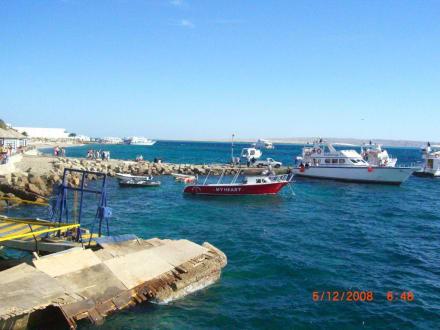 Anlegeplatz in Hurghada - Yachthafen Hurghada