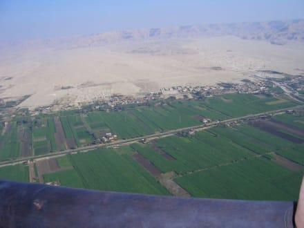 in 800 Meter Höhe! - Ballonfahrt Luxor