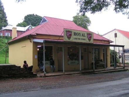 Royal Liquor Store in Pilgrim´s Rest - Pilgrim's Rest - alte Goldgräberstadt