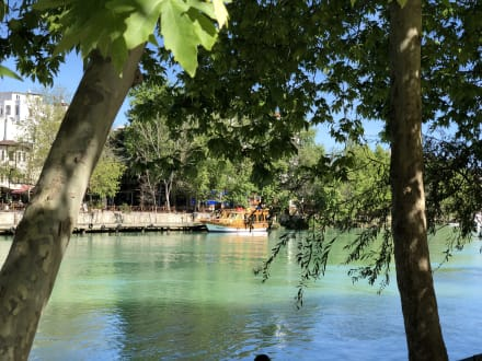 Ausblick - Flussfahrt Manavgat