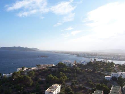Altstadt von oben - Altstadt Dalt Vila Ibiza