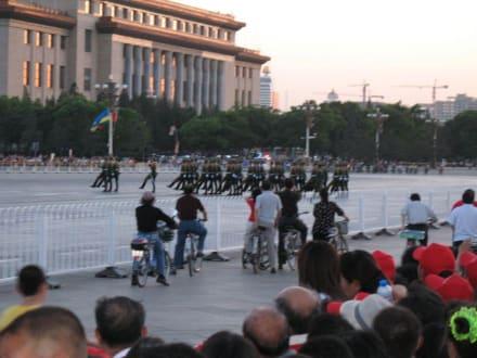 Abends am Platz des himmlischen Friedens 2 - Platz des himmlischen Friedens