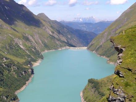 Stausee Moserboden - Hochgebirgsstauseen