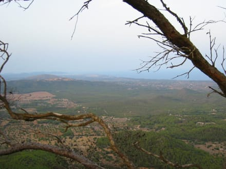 Blick vom Klosterberg San Salvador - Puig de San Salvador