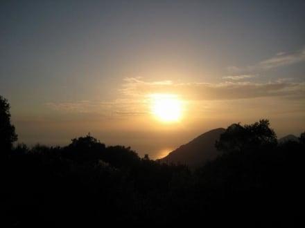 Sonnenuntergang am Kaizer's Throne - Kaizer's Throne