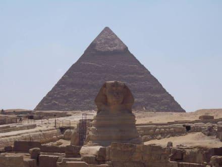 Gizeh Pyramiden und Sphinx - Pyramiden von Gizeh