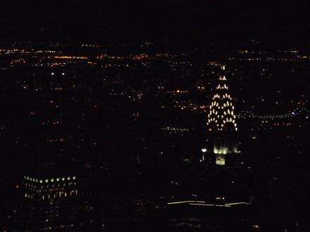 Blick zum Chrysler Building - Empire State Building
